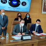 Signature d'une convention-cadre de partenariat en le CRI TTA et PORTNET