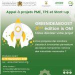 APPEL A PROJET: GREEN IDEA BOOST